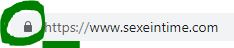 HTTPS Sexeintime Capture d'écran
